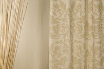 Curtain fabric / patterned / damask