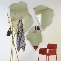 Wall-mounted mirror / original design / steel