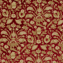 Upholstery fabric / floral pattern / viscose / polyester