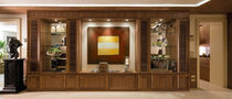 Wood decorative panel / solid wood / wall-mounted / smooth