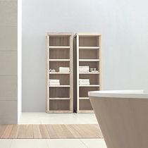 Contemporary shelf / ash / bathroom