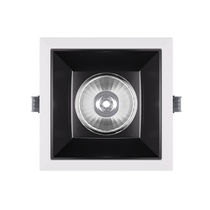 Recessed downlight / LED / square / dimmable