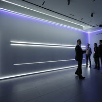 Built-in lighting profile / wall-mounted / LED / modular lighting system