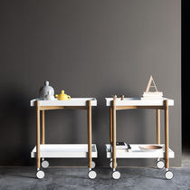 Wooden service trolley / residential