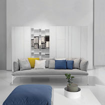 Contemporary sofa / fabric / contract / by Jean-Marie Massaud