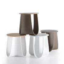 Contemporary stool / bamboo / polyurethane / contract