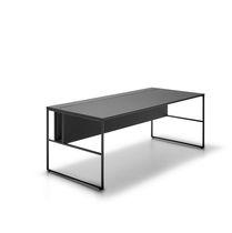 MDF desk / laminate / contemporary / contract