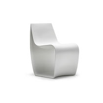 Contemporary chair / rotomolded polyethylene / contract / for public buildings
