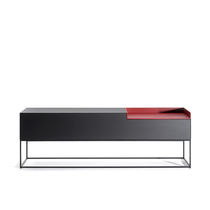 Contemporary sideboard / lacquered MDF / modular