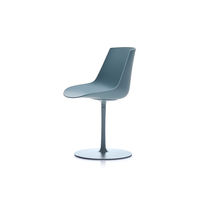 Contemporary chair / swivel / star base / central base
