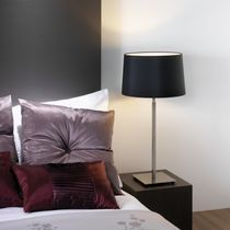 Table lamp / contemporary / metal / incandescent