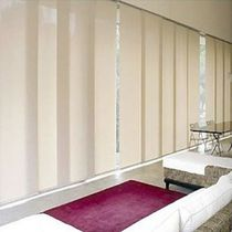 Sliding panel blinds / fabric / commercial / chain-operated