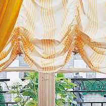 Roman blinds / canvas / chain-operated / electric