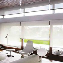 Roller blinds / canvas / chain-operated / sun protection