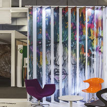 Vertical blinds / fabric / commercial / acoustic