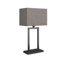 Table lamp / contemporary / cotton / brown