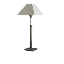 Table lamp / traditional / cotton / height-adjustable