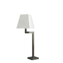 Table lamp / contemporary / cotton / swing-arm