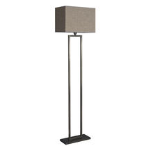 Floor-standing lamp / contemporary / cotton / white