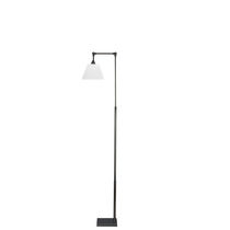 Floor-standing lamp / contemporary / cotton / orientable