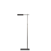 Floor-standing lamp / traditional / brass / adjustable