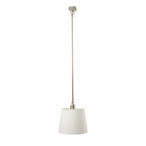 Pendant lamp / traditional / brass / nickel