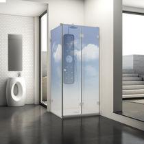 Folding shower screen / corner / glass