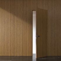 Wood decorative panel / wall-mounted / smooth