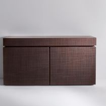Contemporary sideboard / wooden / aluminum