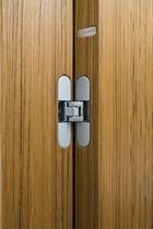 Indoor door / swing / wooden / for hotels