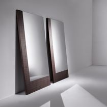 Free-standing mirror / table / contemporary / rectangular