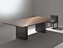 Contemporary table / copper / rectangular