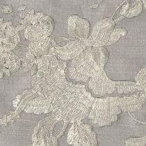 Curtain fabric / floral pattern / viscose / silk