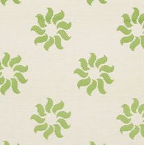 Upholstery fabric / floral pattern / acrylic / for outdoor use