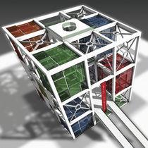 BIM (Building Information Modeling) software / CAD / for steel structures / 2D