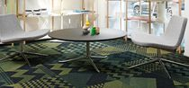 Tufted carpet / synthetic / PVC-free / loop pile