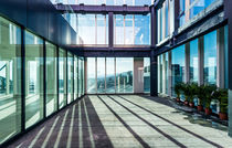 Facade glass panel / solar / low-e