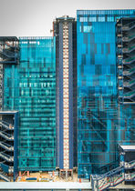 Facade glass panel / solar / low-e