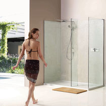 Swing shower screen / angle / glass
