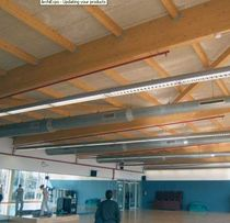 Roof sandwich panel / wood / polystyrene core