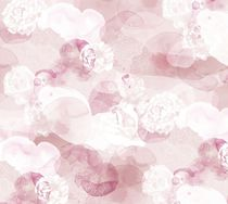 Contemporary wallpaper / fabric / floral / non-woven
