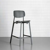 Minimalist design bar stool / for restaurants / contract / commercial