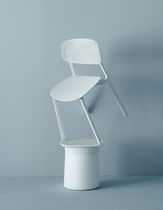 Contemporary chair / stackable / polypropylene / by Patrick Norguet