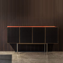 Contemporary sideboard / wooden / metal / by Piero Lissoni