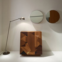 Contemporary sideboard / oak / elm / by Alessandro Mendini