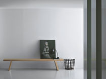 Contemporary bench / solid wood / by Piero Lissoni
