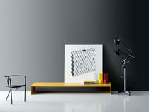 Contemporary bench / metal / MDF / by Piero Lissoni