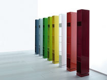 Original design bookcase / lacquered wood / by Piero Lissoni