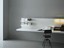Wooden desk / contemporary / for hotels / wall-mounted