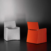 Contemporary armchair / fabric / by Christophe Pillet